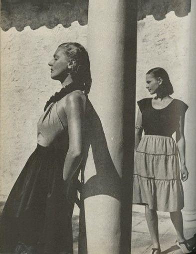 Harper's Bazaar May 1944    Louise Dahl-Wolfe