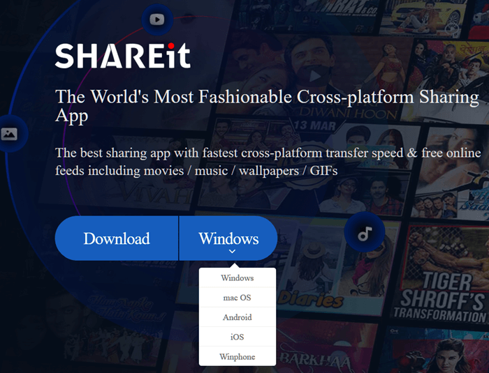 SHAREit for PC Windows 10 64bit Free Download (Latest