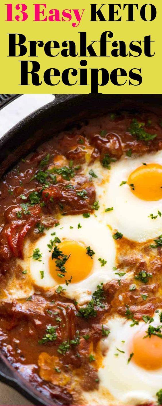 Easy Keto Breakfast Recipes - Keto Snacks on the Go #ketodietforbeginners