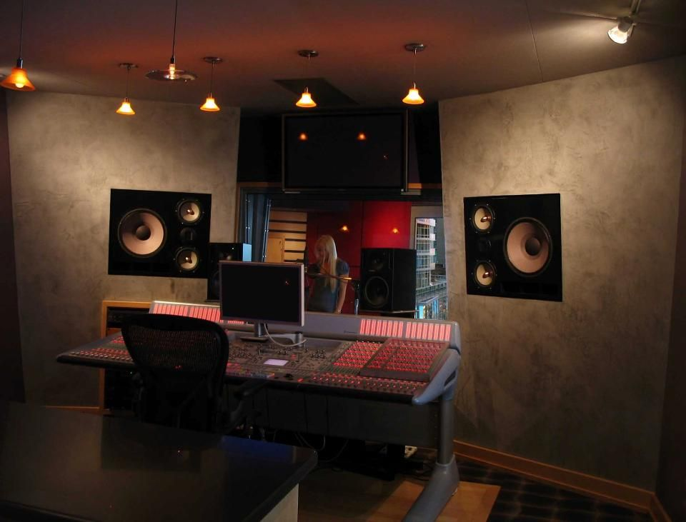 Show Off Your Musical Talent In This Timber Homes One Of A Kind Private Recording Studio
