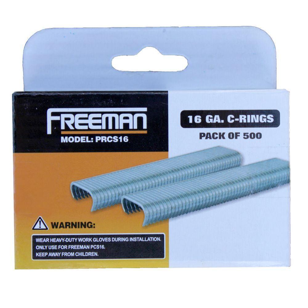 16 Gauge C Ring Staples Products Gauges Fasteners Rings