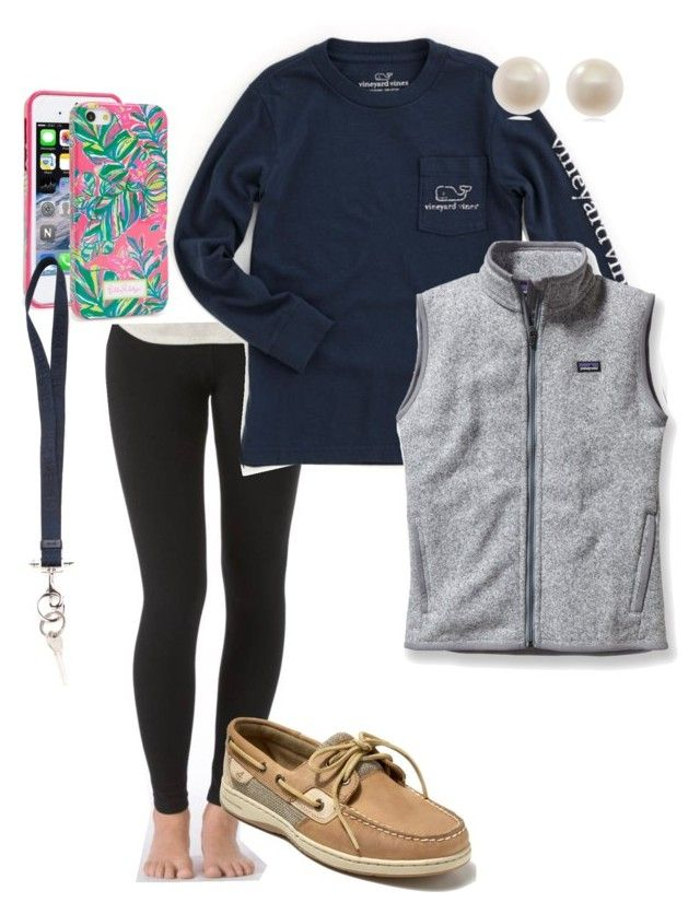 Extra Preppy By Pmargaret On Polyvore Featuring Patagonia Aerie Sperry Top Sider Links Of London Lilly Pulitzer Vineyard Vines And Givenchy