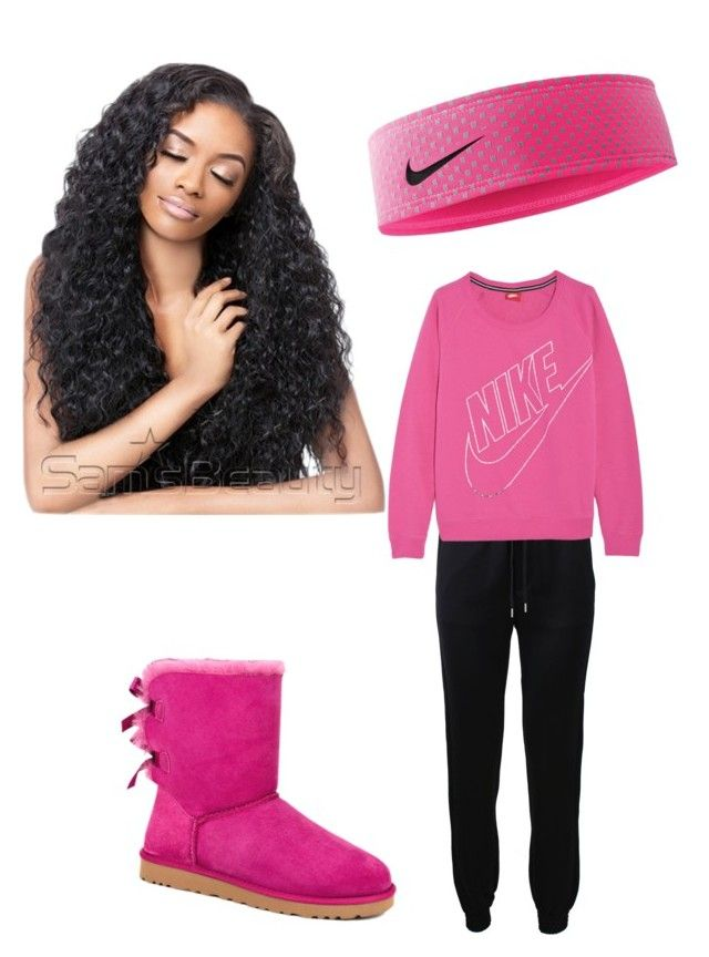 """""""Untitled #35"""" by swagclothing ❤ liked on Polyvore featuring Barbara Bui, NIKE and UGG Australia"""