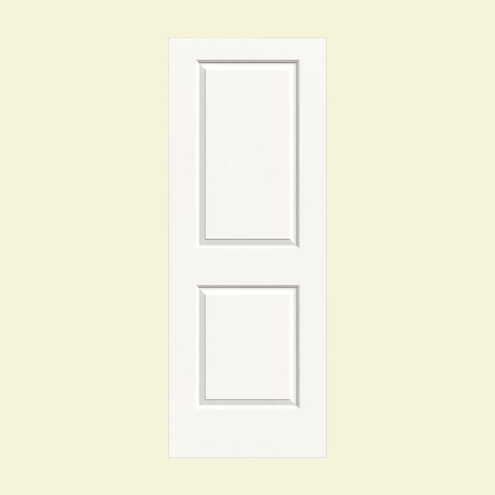 Jeld Wen 24 In X 80 In Cambridge White Painted Smooth Solid Core