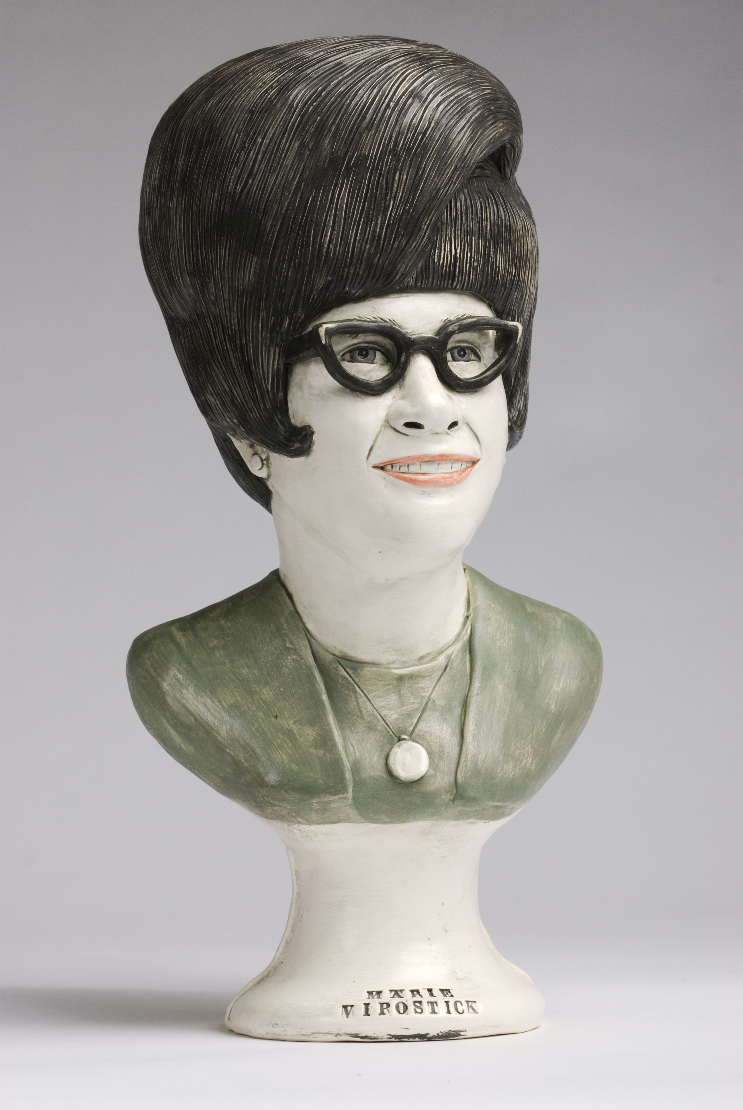 Good Girls - portrait of Marie Virostick - Marilyn Lysohir