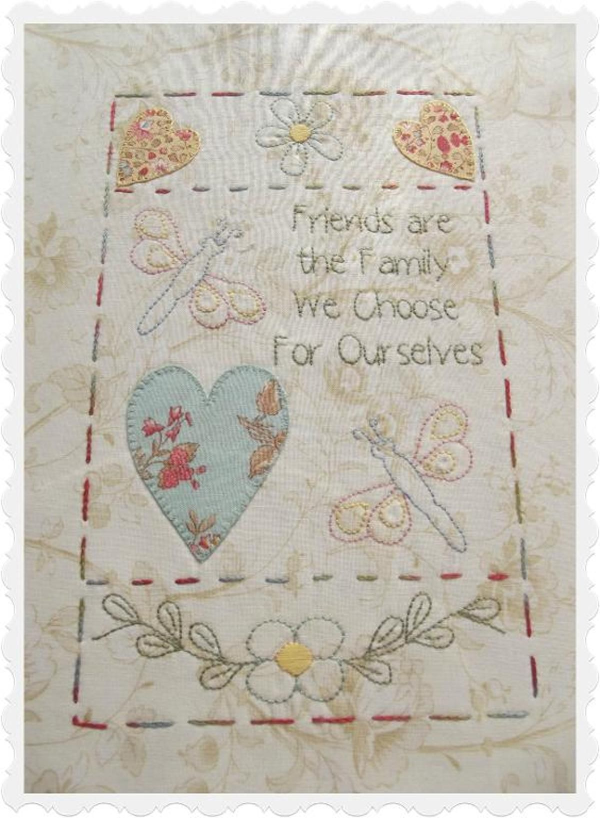 The friendship quilt block embroidery pinterest quilts