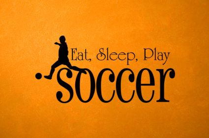 006006 Eat Sleep Play Soccer 18 x 9 by VinylReflections on Etsy, $16.80