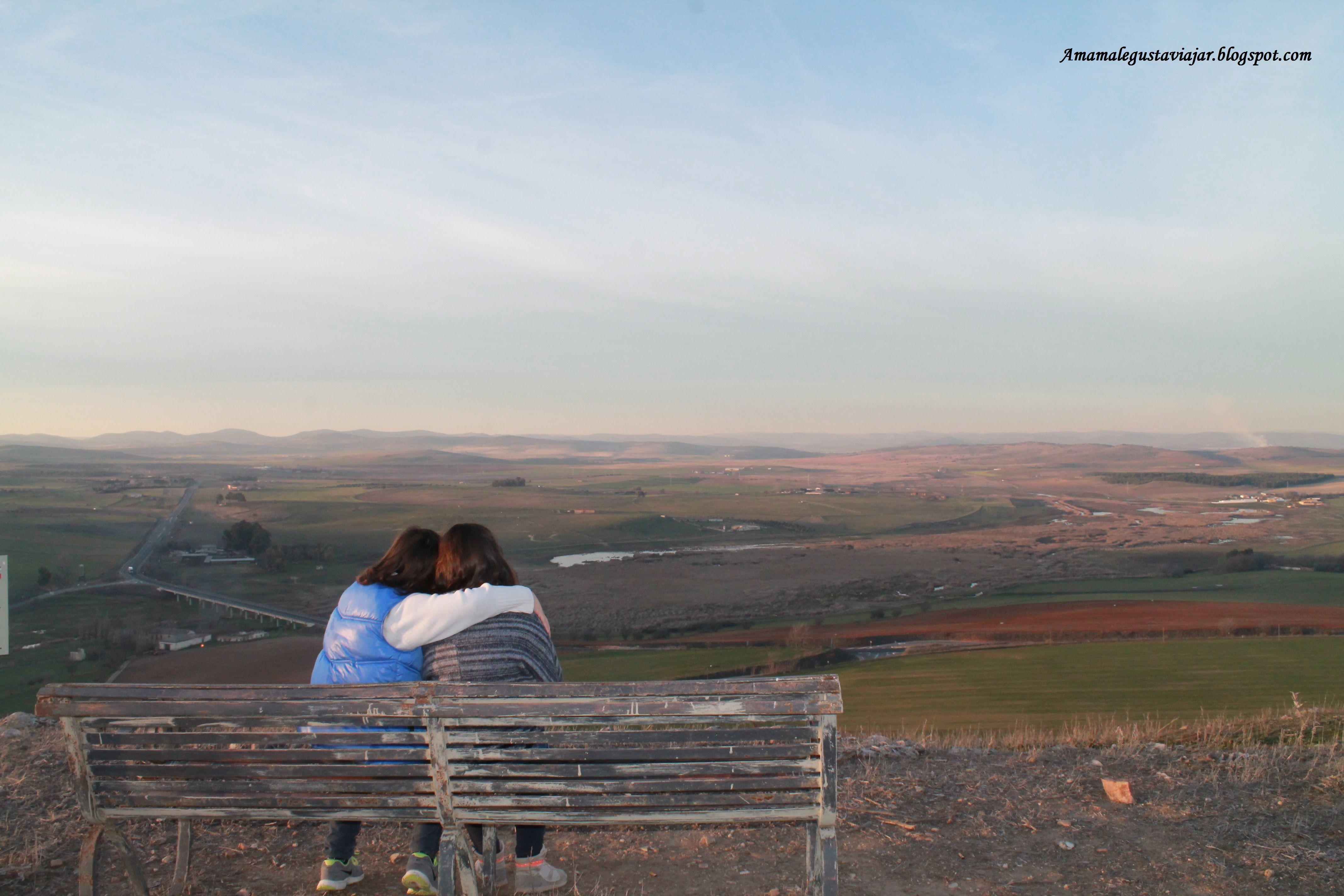 Vistas desde la posición que ocupaba el castillo de Alarcos.