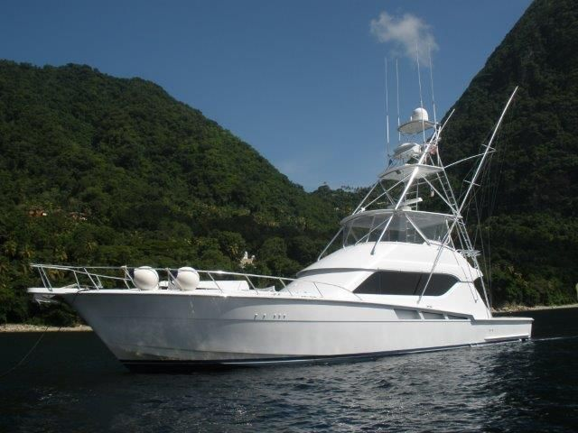 2003 Hatteras 60 Convertible for sale TX US - Galati Yacht