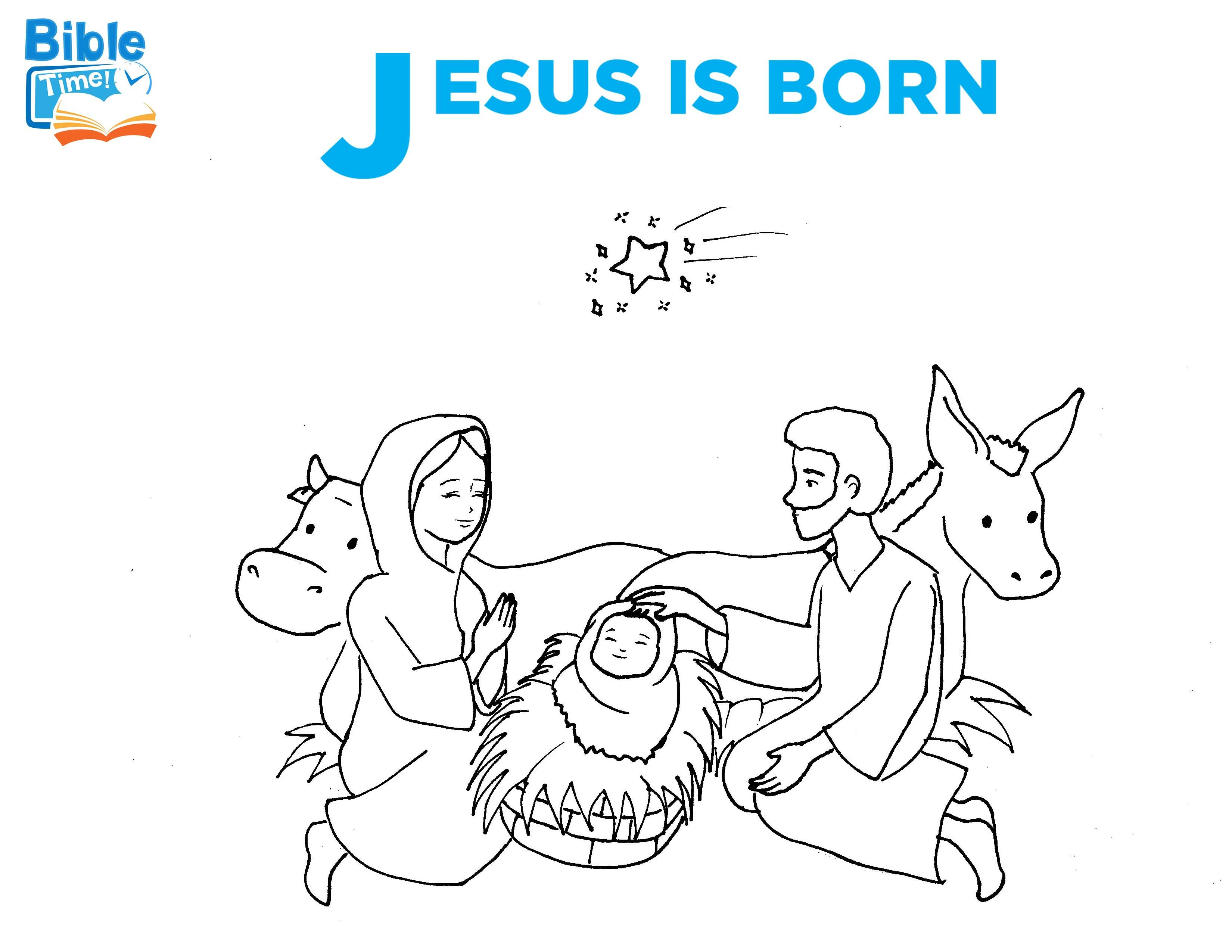 Free Baby Jesus Bible Coloring Page Coloring Sheets For Toddlers Preschoolers And Kindergartners Childr Bible Coloring Pages Bible Coloring Coloring Pages