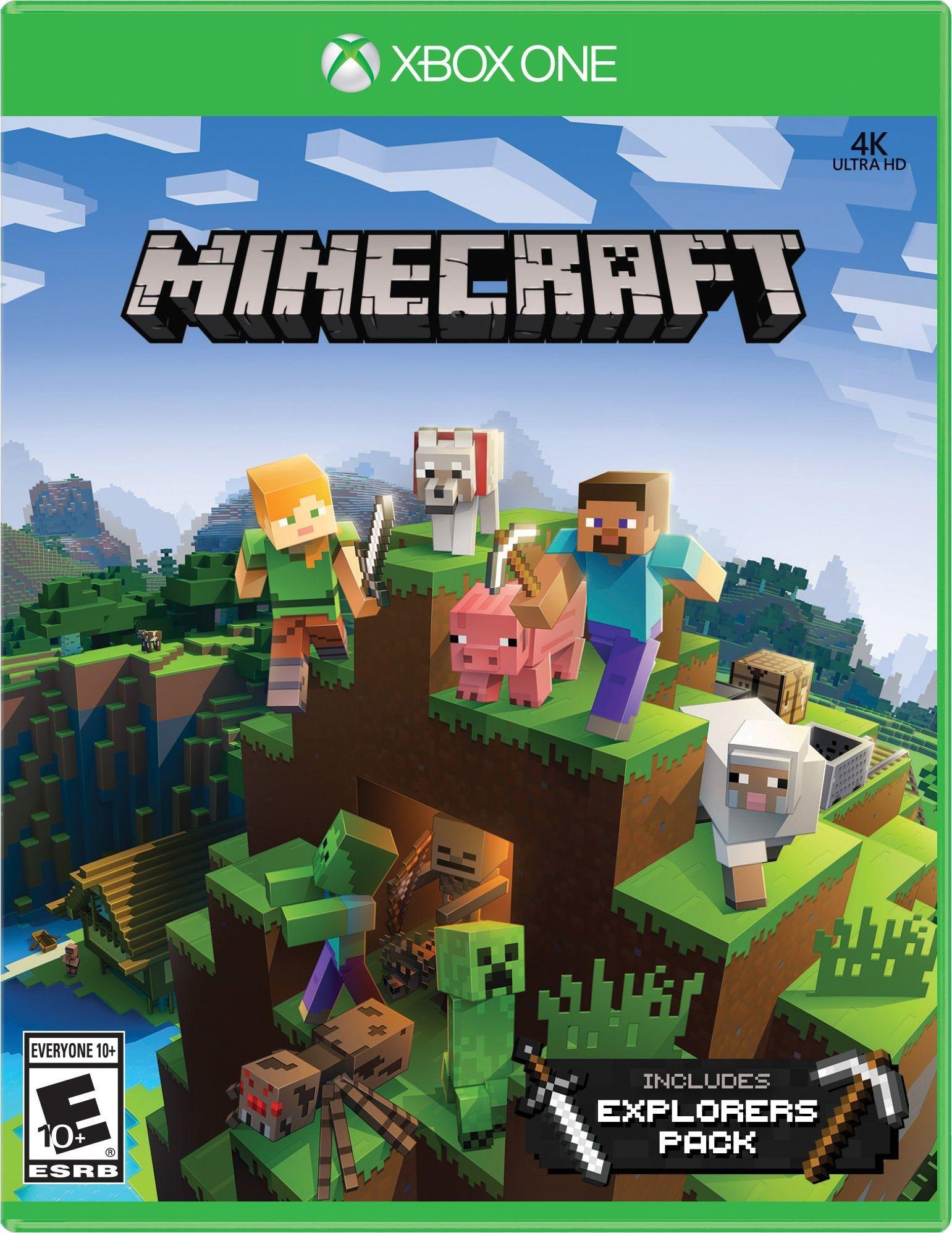 Minecraft Explorers Pack Nintendo switch games, Nintendo