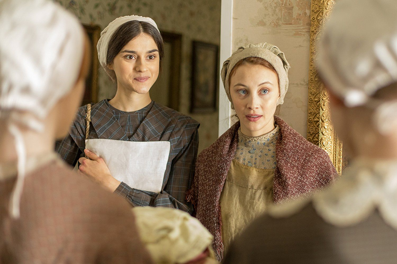 Sarah Gadon & Rebecca Illiard in Alias Grace 2017 - IMDb | Film & TV ...