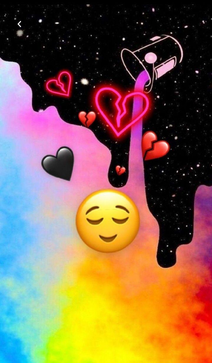 Pin By Thina Ganesan On L Love You In 2020 Emoji Wallpaper Iphone Cute Emoji Wallpaper Glitch Wallpaper
