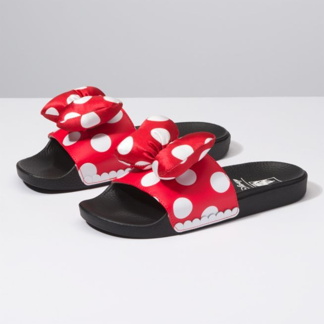 ada480030a38 Vans DISNEY X VANS SLIDE-ON Vans Minnie Mouse Slides Womens Size 5-10   fashion  clothing  shoes  accessories  womensshoes  athleticshoes (ebay  link)
