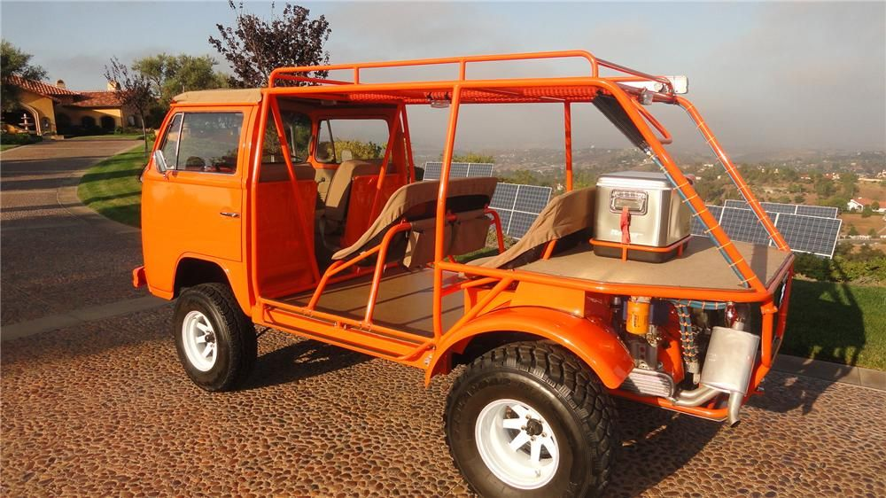 customized beach cruiser 1973 vw bus that has been. Black Bedroom Furniture Sets. Home Design Ideas