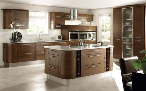 Cocinas con isla Luxury kitchens, Kitchens and Interiors