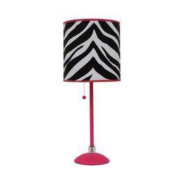 Zebra Lamp From Target Hot Pink Zebra Bedroom Lamp Pink Zebra