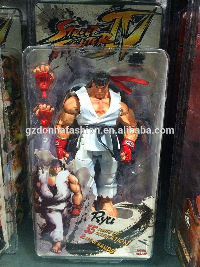 NECA Player Select Street Fighter IV Survival Model Ken