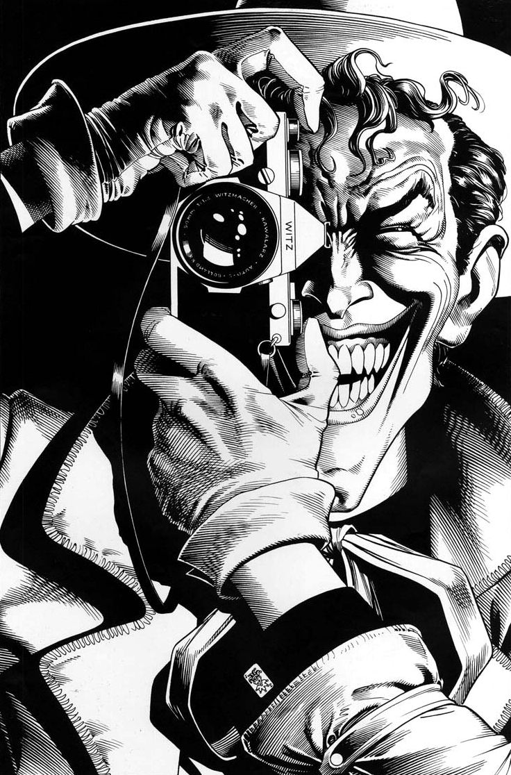 Batman: The Killing Joke cover by Brian Bolland | Brian Bolland ...