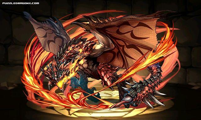 Rathalos Stats Skills Evolution Location Puzzle Dragons