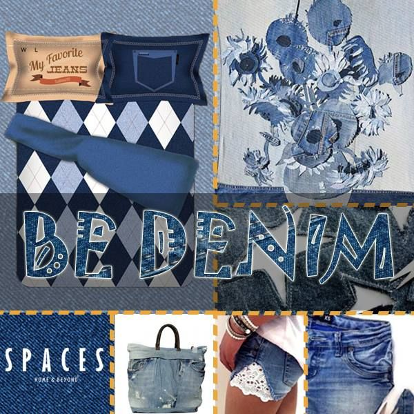 A world made of denim, how does it sound? #BeDenim