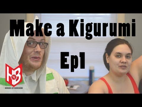 How to make a summer digimon time kigurumi Part 1 of 3