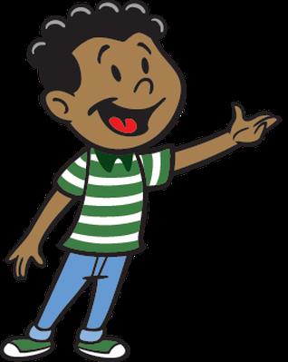 Image result for black boy school work clip art