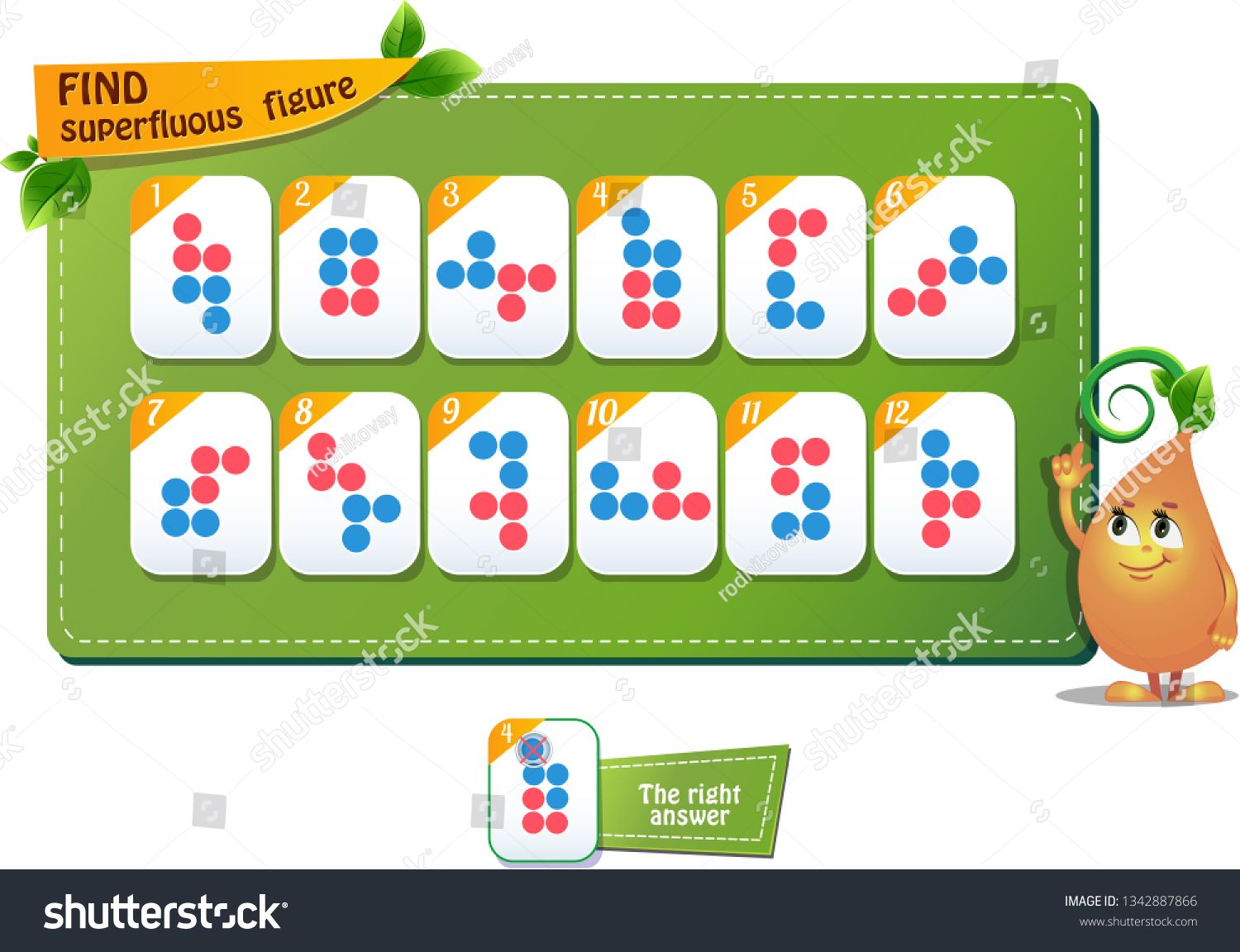 Educational Game For Kids And Adults Development Of Logic Iq
