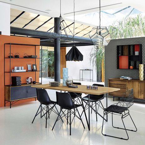 Esstisch aus massivem Mangoholz, B 200 cm Arty Maisons du Monde - esszimmer berlin