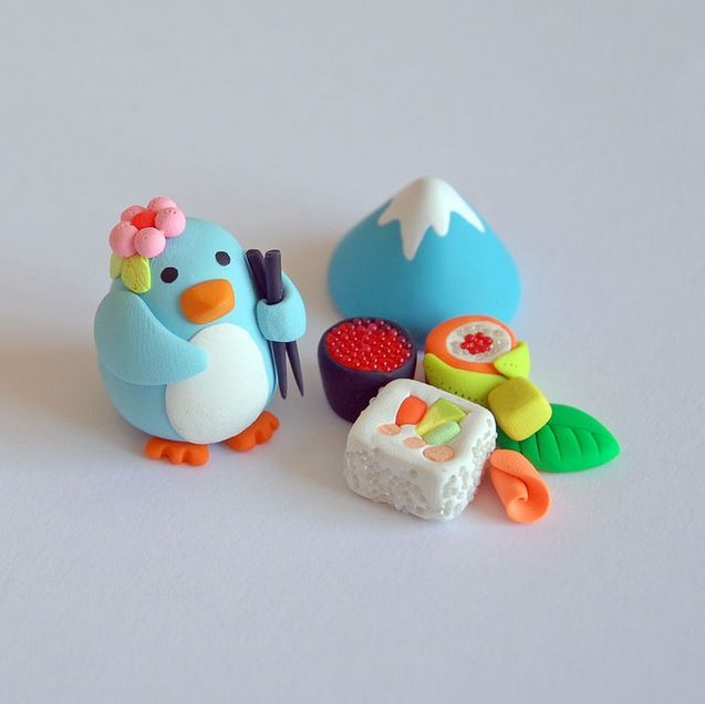Cute Clay Figurines By Afsaneh Tajvidi