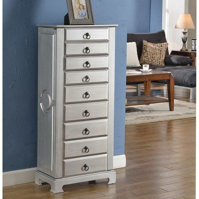 Beautiful Wildon Home Large Jewelry Armoire