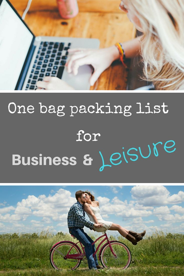 03a3243b85 Business and leisure on one trip  One carry on bag  A one carry on bag  packing list for business and leisure. Travel packing tips.