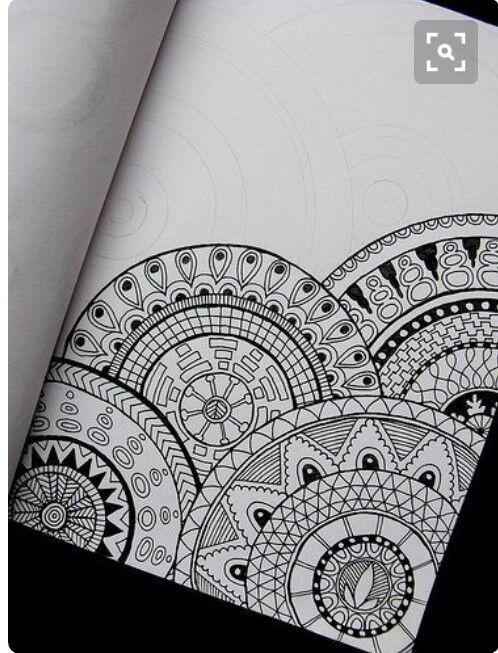 Mrvzaslan Adli Kullanicinin Turkiyem Panosundaki Pin Zentangle Desenler Cizimler Desenler