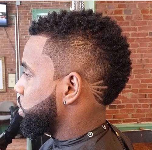 Black Men Mohawk Styles