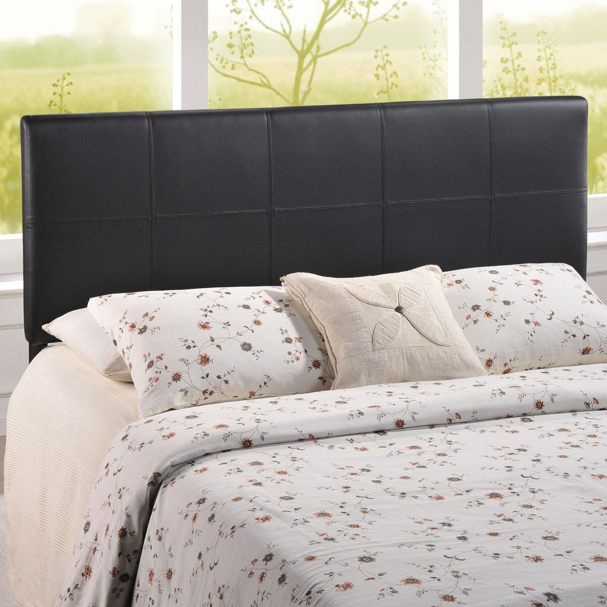 Best Oliver Queen Headboard In Black Mod 5131 Upholstered 400 x 300