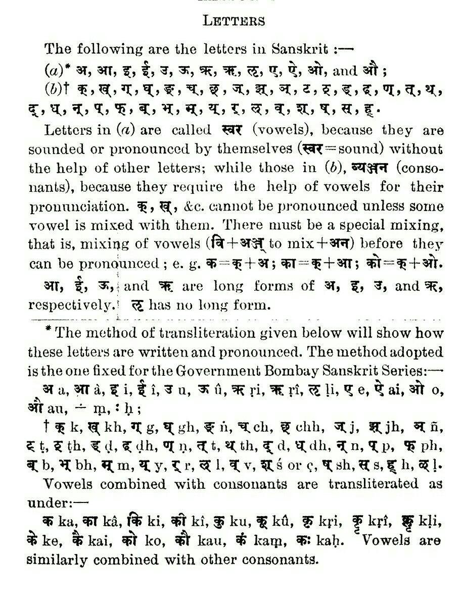 Sanskrit Letters Basics  Sanskrit    Sanskrit And Language