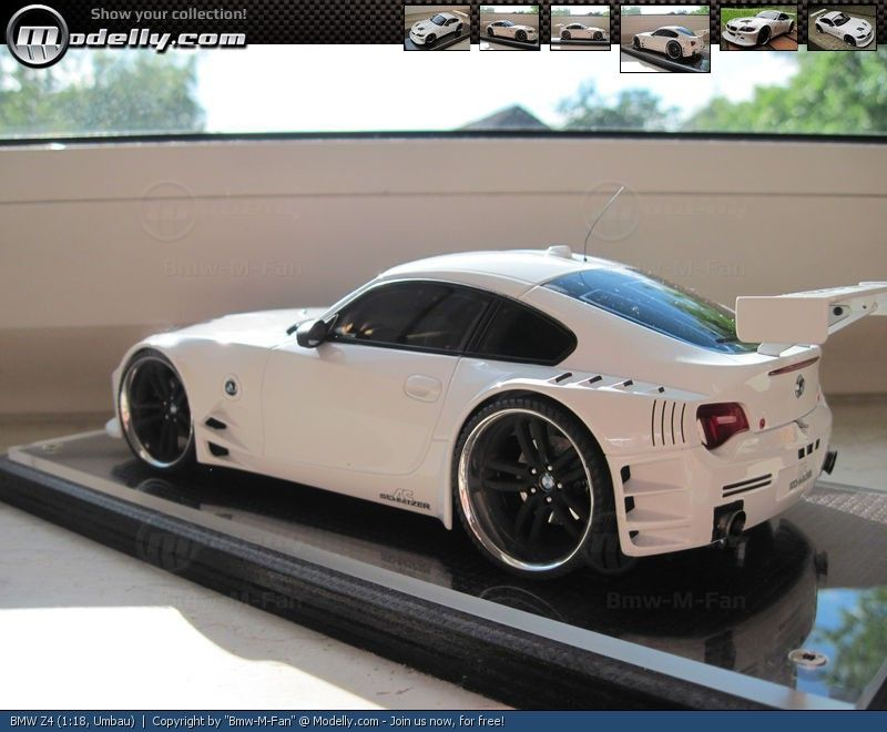 Bmw Z4 Custom >> Bmw Z4 M Custom Bmw Z4 Customized 1 18 Modelcar By Bmw M Fan