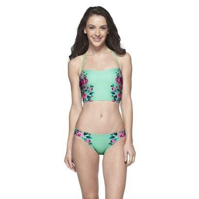 a91c50f7d6b Junior's 2-Piece Midkini Swimsuit -Floral   Swimsuits 2018 ...