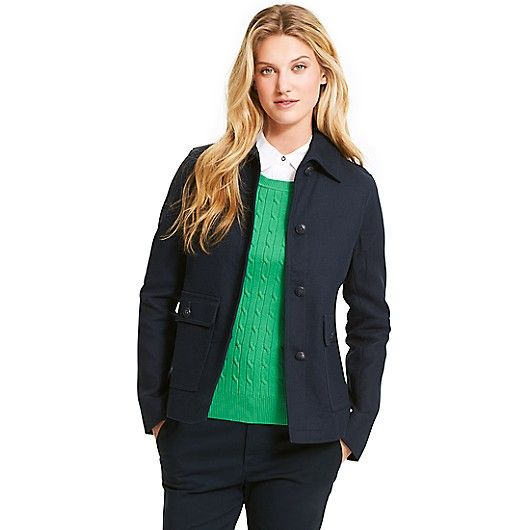 Image for A-LINE PEACOAT from Tommy Hilfiger USA