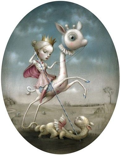 Princess and the prey.