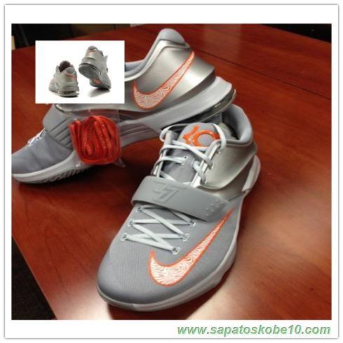 on sale 39e8d 3f770 Running · Outlets · Silver · Nike KD 7,VII Nike KD 7 0001 Prata Cinza