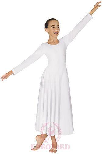 13524C Child Floor Length Dress Dresses Discount Praise Dance Wear ...