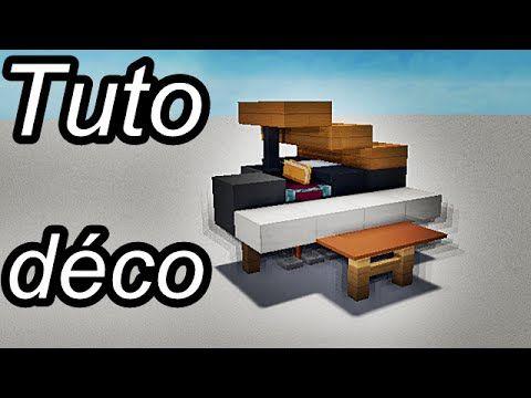 Minecraft Tuto - Déco intérieur : meubles - 1/2 ...