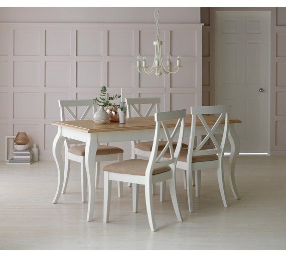 buy collection southwold dining table  u0026 4 chairs   two tone at argos co  buy collection southwold dining table  u0026 4 chairs   two tone at      rh   pinterest com