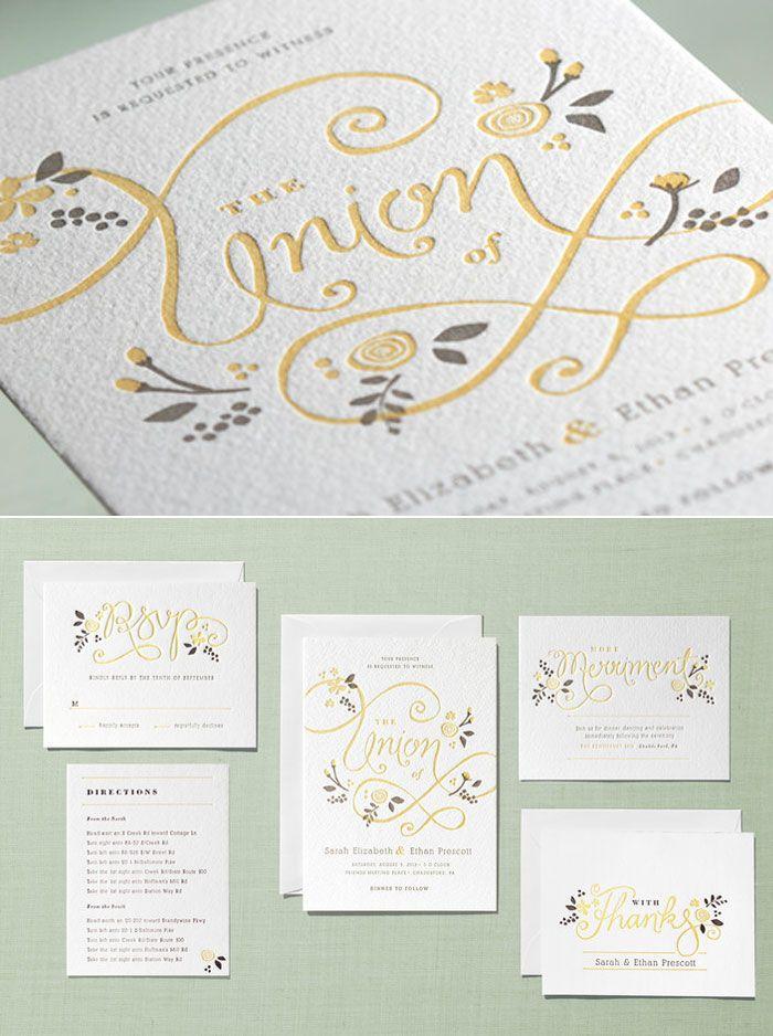 minted com now offering letterpress wedding invitations