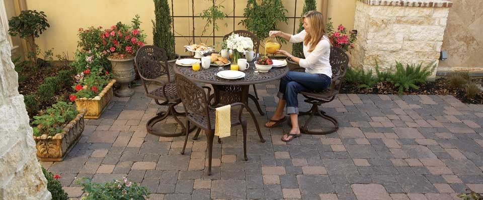 Sunday Brunch On The Patio Surrounded By Beauty And Nature