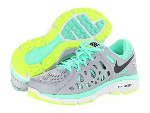 Nike Dual Fusion Run 2 Wolf Grey Volt Green Glow Purple Dynasty Footwear  Shoes 63a23ac98