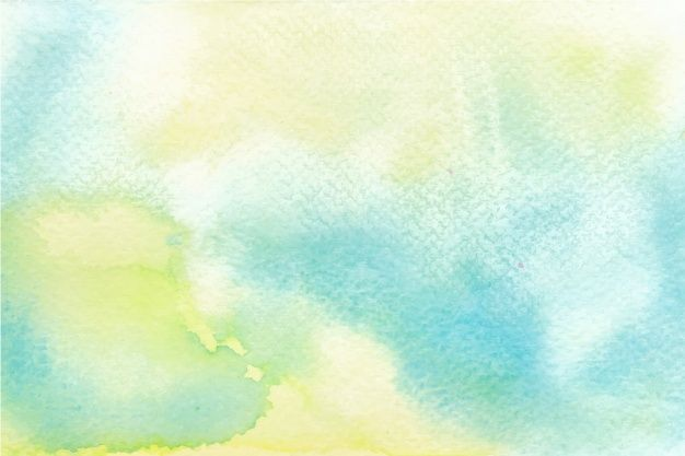 Download Blue And Yellow Watercolor Background For Free