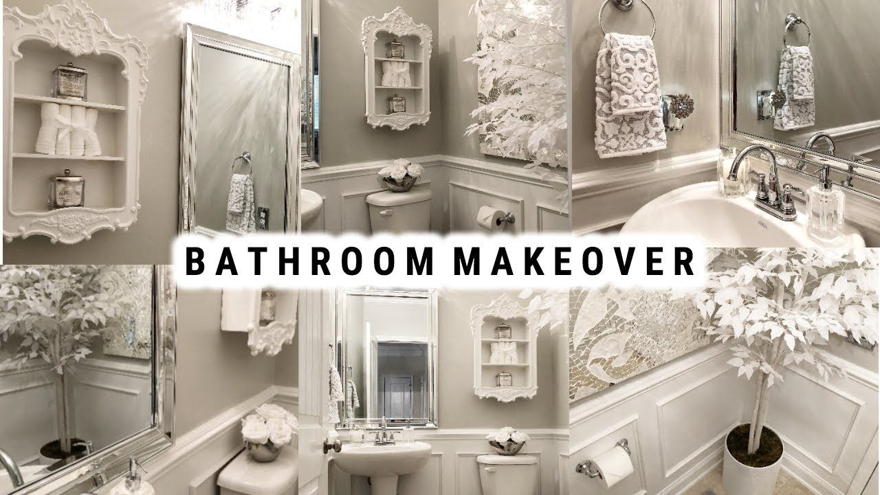Diy Small Bathroom Makeover Glamorous Ideas On A Budget Before