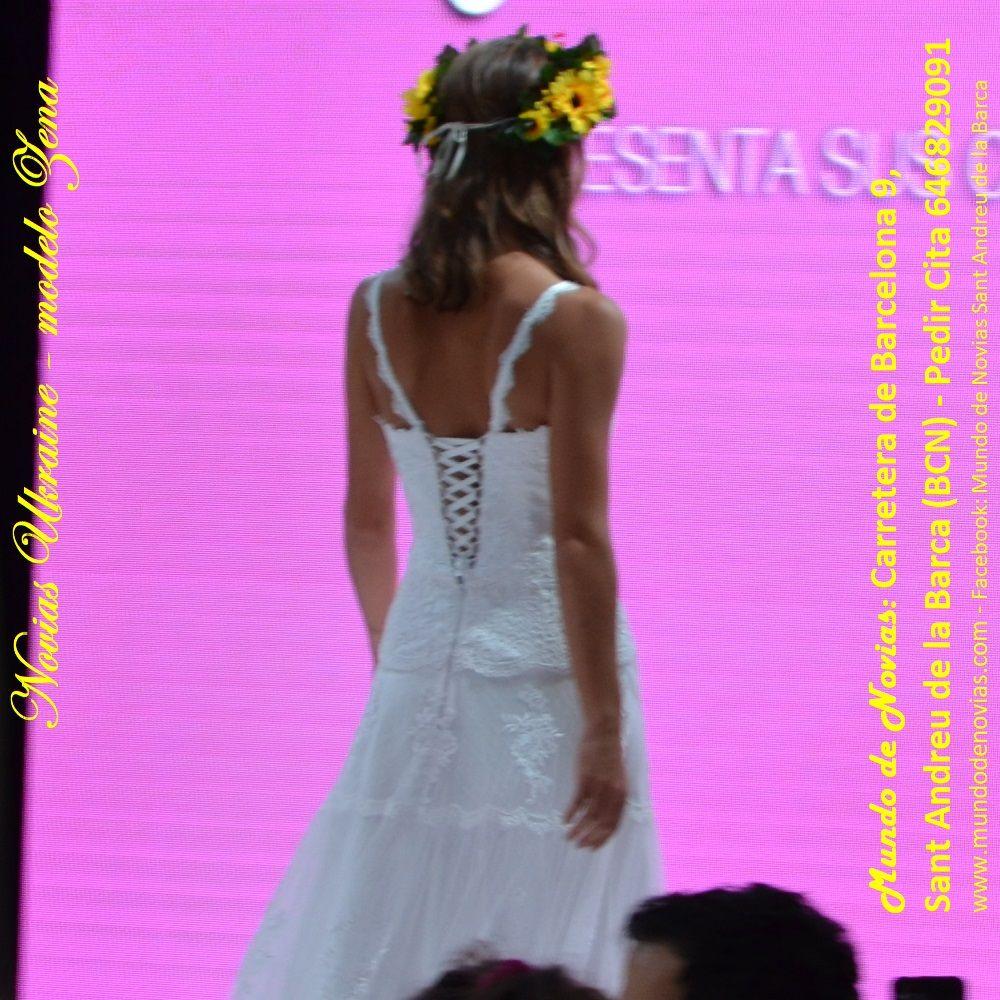 Vestido de Novia Ibicenco de la Colección Playa y Montaña 2019. Es ...